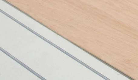 Underfloor heating acoustic solutions