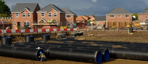 Residential Drainage Pipes
