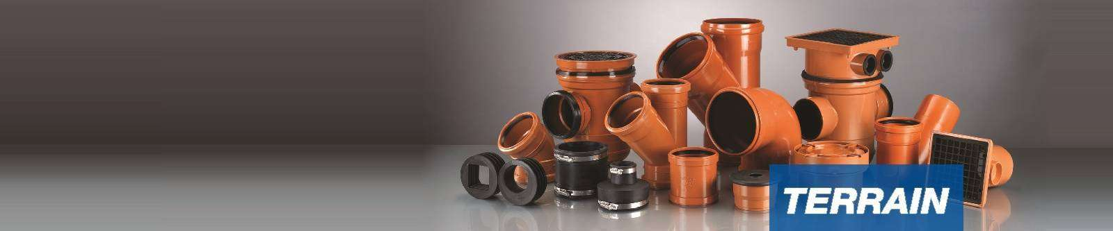 Terrain underground drainage polypipe international for Below ground drainage systems explained