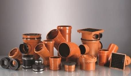 Terrain underground drainage pipe systems